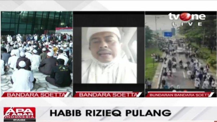 Kepulangan Habib Rizieq Shihab, Ini Agenda yang Akan Dia Lakukan, Termasuk Nikahkan Najwa Shihab