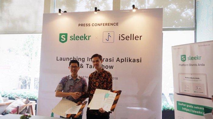 Integrasi Sleekr dan iSeller Luncurkan Aplikasi Solusi Mudah Pencatatan Keuangan