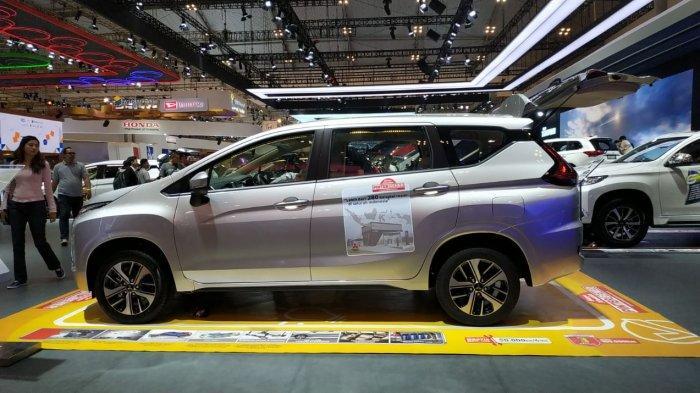 Small MPV terlaris Mitsubishi Xpander akan menjadi penopang paling kuat penjualan Mitsubishi Motors di GIIAS 2019.