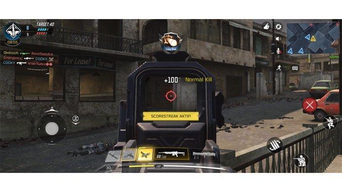 Bermain Call of Duty Mobile terasa lancar berkat RAM 8GB yang dimiliki OPPO A9 2020.