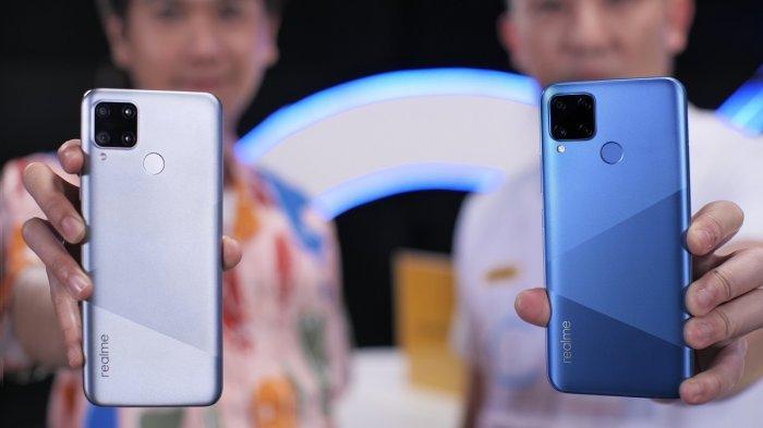 Smartphone terbaru Realme C15.