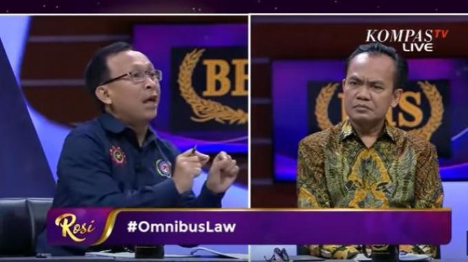 SesMenko Perekonomian Sebut RUU Omnibus Law Cipker Lindungi Pekerja, Presiden OPSI: Tak Sesuai Fakta