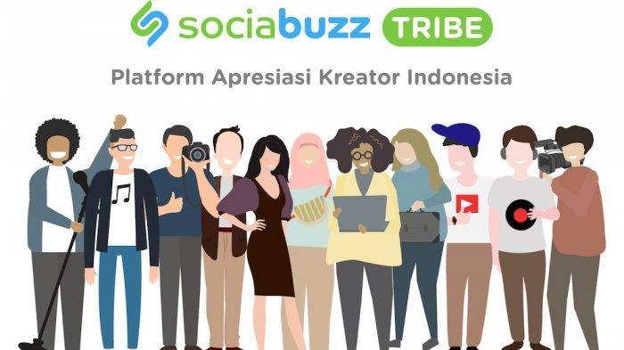 SociaBuzz Tribe: Kini, Content Creator Bisa Dapat Dukungan Finansial dari Fans