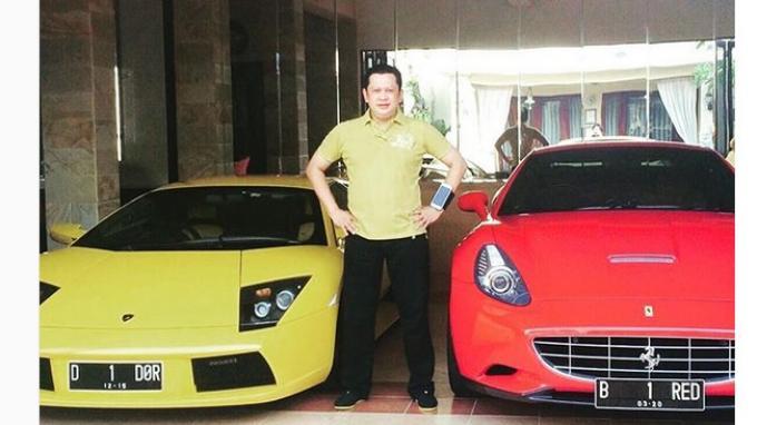 Pemilik Mobil Ferrari Bambang Soesatyo Pernah Kembali Saat Pilkada Jakarta