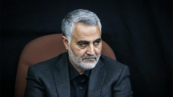 Mayor Jenderal Qassem Soleimani, Komandan Pasukan Khusus Iran.