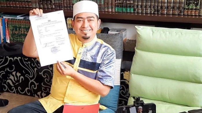 Ustaz Solmed saat ditemui di Kebon Jeruk, Jakarta Barat, Rabu (6/10/2021).
