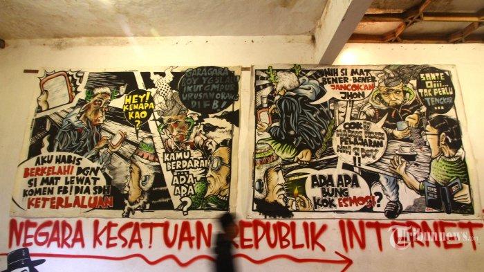 Street Art Bukanlah Vandalisme Jika Dituangkan di Tempat yang Tepat!