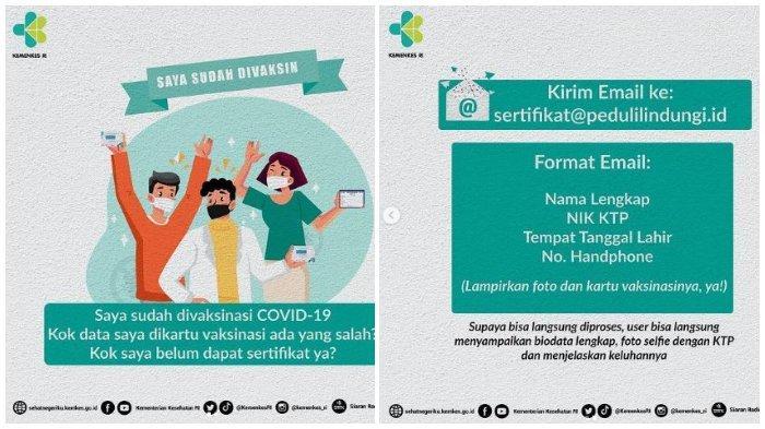 Cara Download Sertifikat Vaksin, Bisa melalui Website atau Lewat Aplikasi PeduliLindungi