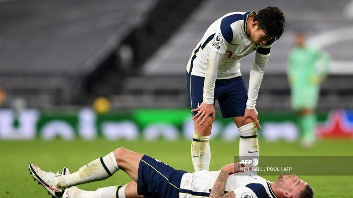 Bek Tottenham Jadi Tumbal Kemenangan atas Manchester City, Mourinho Khawatirkan Cedera Alderweireld