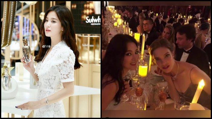 Setelah Digugat Cerai Song Joong Ki, Song Hye Kyo Tampil Mempesona Bersama Natalie Portman