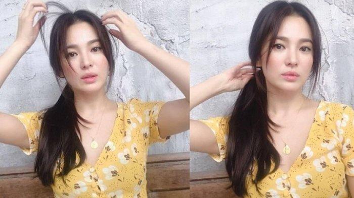 Cara Berpakaian Song Hye Kyo Setelah Dicerai Dikritik karena Belahan Dada di Bajunya Rendah