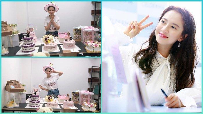 Song Ji Hyo Rayakan Ulang Tahun ke-40, Unggah Foto Dikelilingi Hadiah sekaligus Ucapkan Terima Kasih