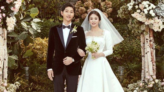 Song Joong Ki dan Song Hye Kyo menikah di Hotel Shilla pada 31 Oktober 2017.