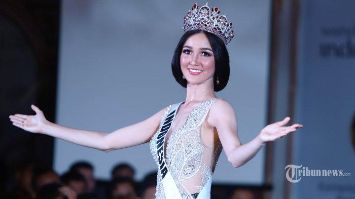 Mengintip Aksi dan Pesona Sonia Fergina Citra di Babak Preliminary Miss Universe 2018