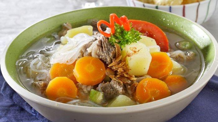 Resep Sop Daging Sapi Rempah dan Sayuran, Cocok Jadi Menu Sarapan dan Makan Siang di Rumah