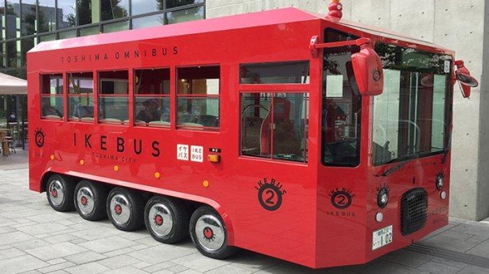 Ikebus (Toshima Omnibus)  yang akan mulai dioperasikan November 2019