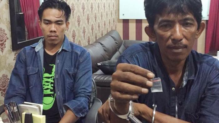 Dua Sopir di Pekanbaru Diringkus Polisi Saat Transaksi Narkoba di Hotel