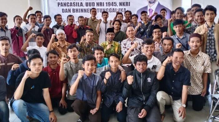 Sosialisasi 4 Pilar MPR,  Abdul Hakim Ajak Pemuda Keluarkan Potensi untuk Bangsa