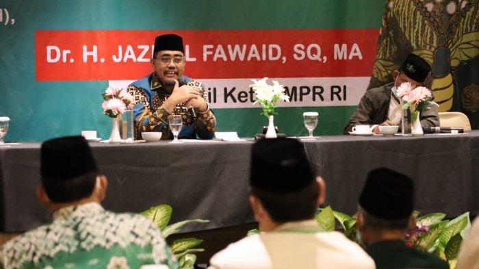 Sosialisasi Empat Pilar Kepada Warga NU, Jazilul Fawaid: NKRI Lahir Dari Kesepakatan Persatuan