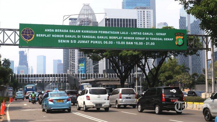 Sanksi Mulai Berlaku pada Sistem Ganjil Genap di 25 Titik di Jakarta