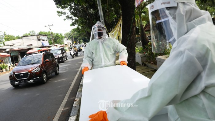 Tren Kurva Kasus Pasien Virus Corona di Jakarta Grafik Masih Naik Turun Meski Sudah Sebulan PSBB