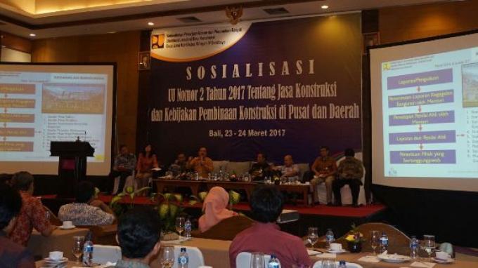 Sosialisasikan UU No 2/2017, Kemen PUPR Optimistis Kualitas Sektor Konstruksi Indonesia Kian Baik