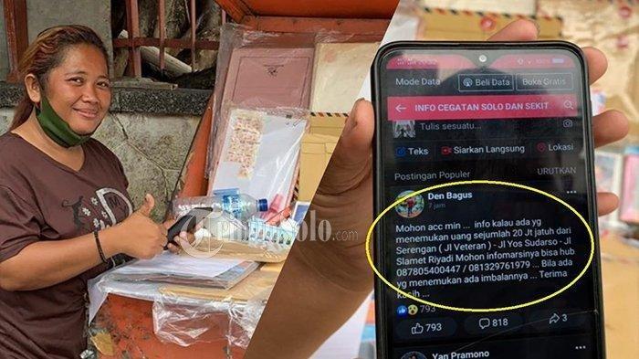 SOSOK Desi Natalia, Penjual Amplop di Solo yang Temukan Uang Rp 16 Juta dan Kembalikan pada Pemilik