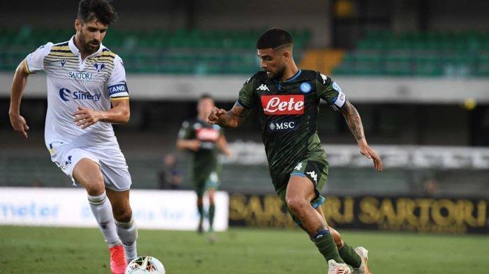 Sosok pemain andalan Napoli, Lorenzo Insigne
