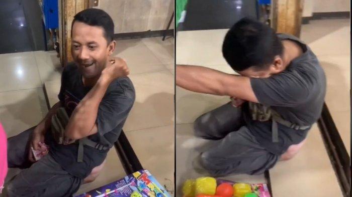 Sosok Sholeh, Penjual Mainan yang Viral di TikTok, Dikenal Mandiri dan Selalu Bersyukur