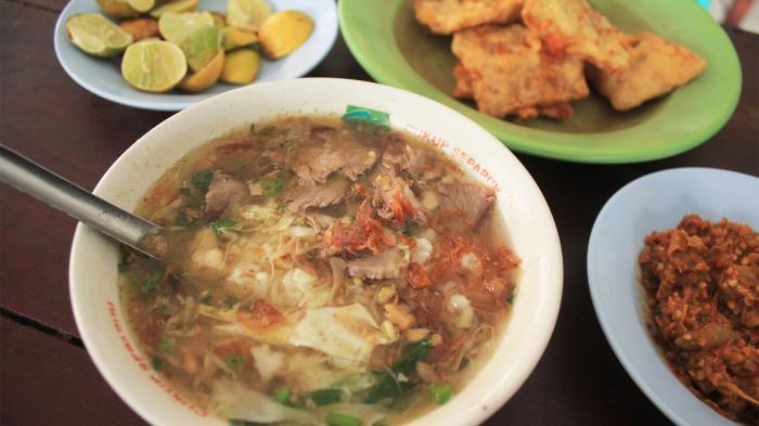 Hasil gambar untuk Soto Daging Sapi Pak Ngadiran