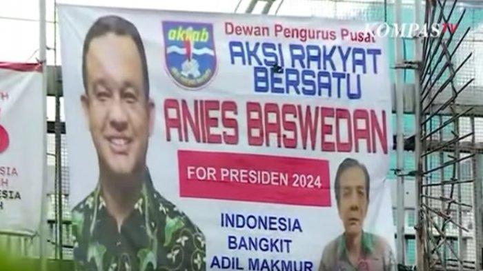 Soal Spanduk 'Anies Baswedan for Presiden 2024', Wagub Jakarta: Ini Era Demokrasi