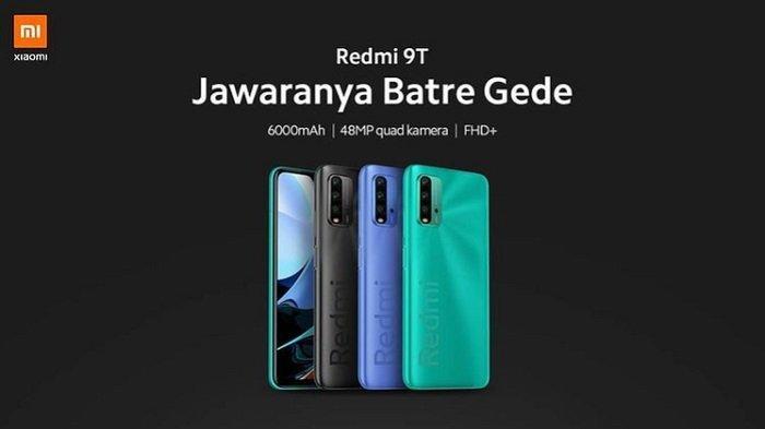 Harga dan Spesifikasi Redmi 9T, Baterai 6000 mAh, Mulai Dijual 24 Februari di Indonesia