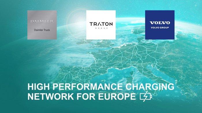 Daimler, Volvo dan Traton Group Kerjasama Bangun 1.700 Titik SPLU Truk dan Bus Listrik di Eropa