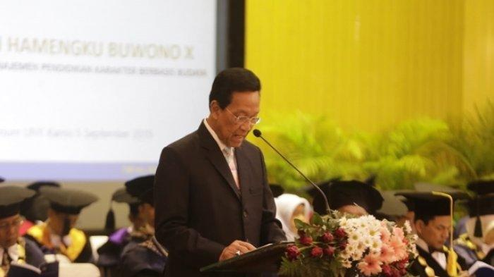 Sri Sultan Hamengku Buwono X Terima Anugerah Doktor Honoris Causa dari Universitas Negeri Yogyakarta