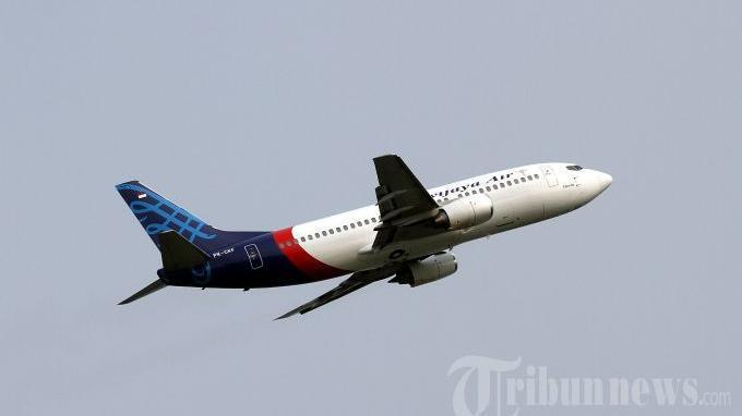 Saat Sriwijaya Air SJ-182 Lepas Landas, Cumulonimbus Selimuti Langit Jakarta