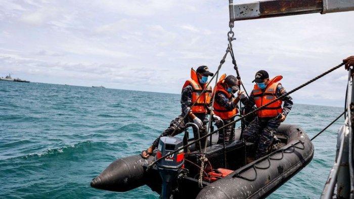 34 Personel Dislambair TNI AL Lanjutkan Pencarian CVR Sriwijaya Air SJ 182
