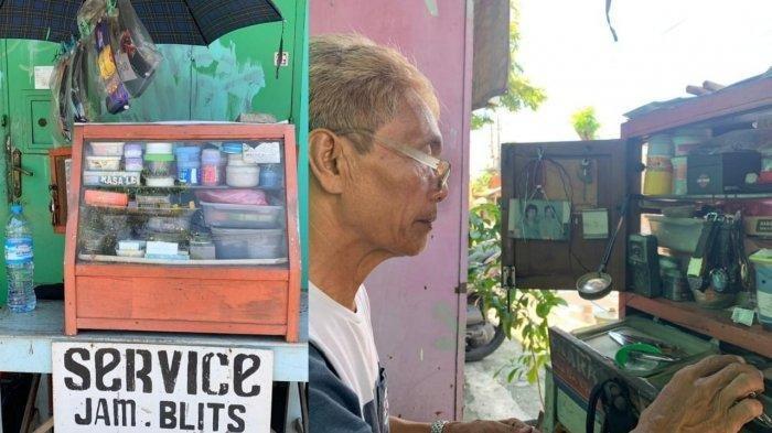 Dulu Bergabung dengan Srimulat, Sriyanto Kini Jadi Tukang Servis Jam untuk Menyambung Hidup