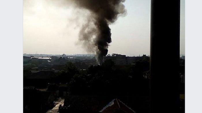 Kebakaran di Mako Brimob Srondol