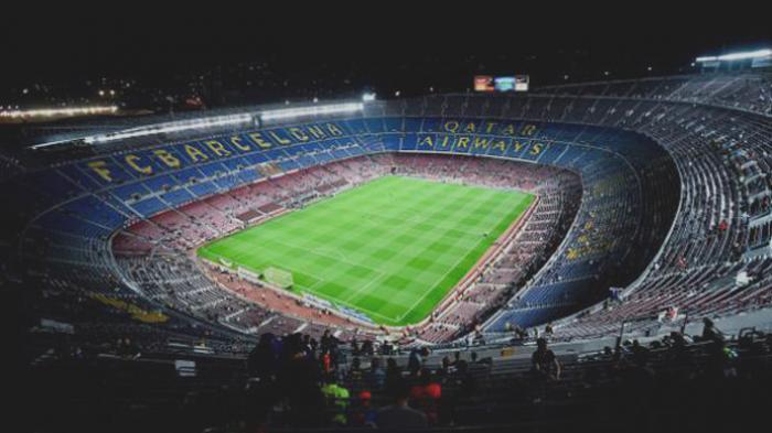Stadion Camp Nou.