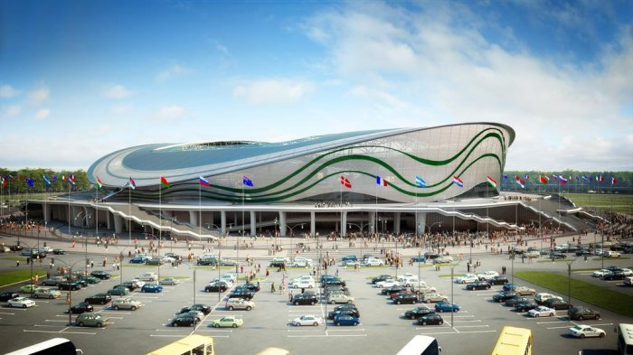 69.300 Gawai Pakai Wi-Fi Gratis di Kazan Arena