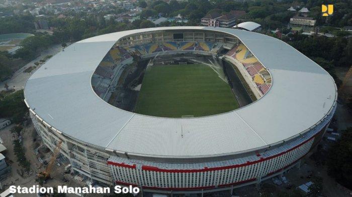 Proyek PUPR yang memanfaatkan BIM yaitu Stadion Manahan Solo