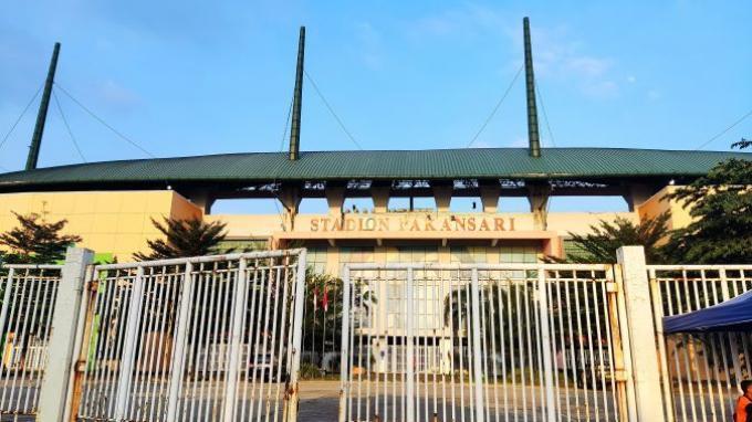 Stadion Pakansari menerapkan protokol kesehatan Covid-19 secara ketat