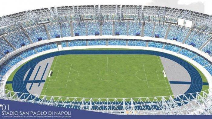 Napoli vs Barcelona: Bisa-bisa tak Ada Penontonnya
