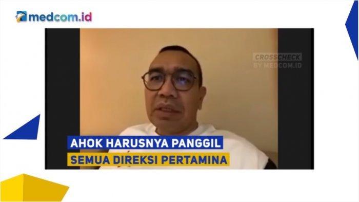 Staf Khusus Menteri BUMN Arya Sinulingga soal Ahok
