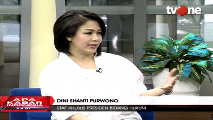 Staf Khusus Presiden Bidang Hukum, Dini Shanti Purwono