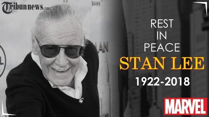 Legenda Marvel Stan Lee Meninggal Usai Setahun Istrinya Wafat, Pertemuan Pertama Salah Sasaran