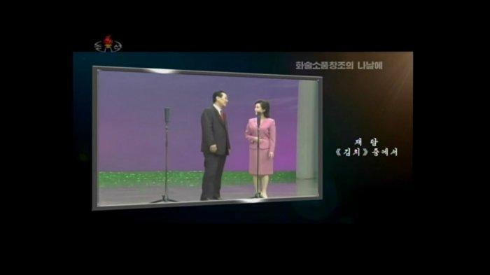 Stand-up comedy di televisi Korea Utara.