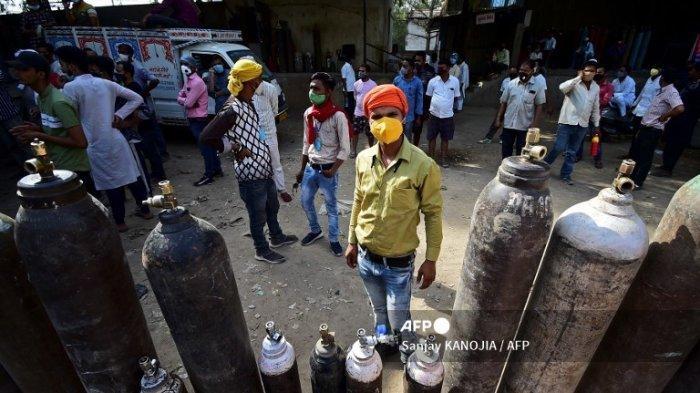 Rumah Sakit di India Terpaksa Tolak Pasien Covid-19 Karena Tak Ada Oksigen