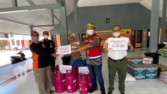 Status Siaga Gunung Merapi, Pertamina Siagakan Operasional dan Salurkan Bantuan BrightGas