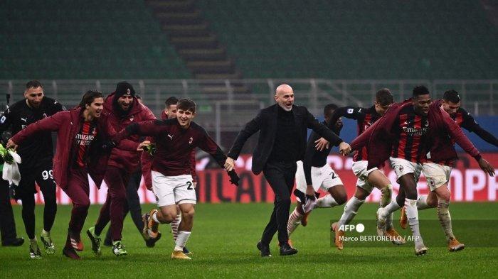 AC Milan Sempat Dirundung Inkonsistensi, Stefano Pioli Ungkap Tangani Tekanan Rossoneri